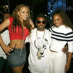 Mariah, Jermaine, and Mrs. Dupri