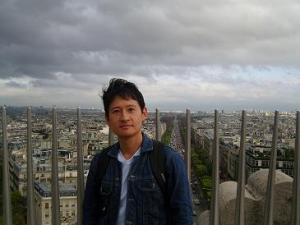On Top of the Arc de Triomphe